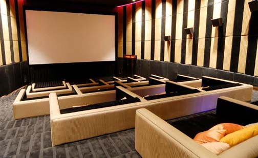 Embassy Diplomat Screen's comfy couches and daybeds that recline into full beds stirs hopes the theaters will one day screen porn.