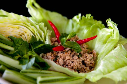 Larb is a popular, tasty Thai dish. As a snack chip flavor, not so much.