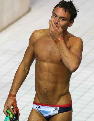 Uh, I did mention Tom Daley, right?
