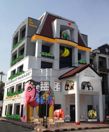 Chiang Mai's Elephant Parade House can be even more fun than riding on one.