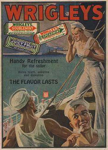'Cuz nothing says Juicy Fruit like a bunch of horny sailors.