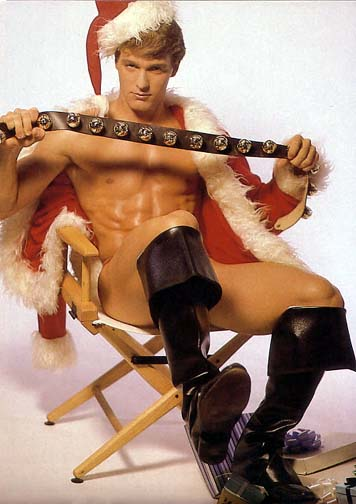 While you are having a nice time playing naughty this holiday season, remember to play safe. That means agreeing on a safe word first, knowing where the handcuff keys are kept, and insisting all toys are properly disinfected between uses. 'Cuz no one wants the gift of one of your STDs for Christmas you 'ho, 'ho, 'ho.