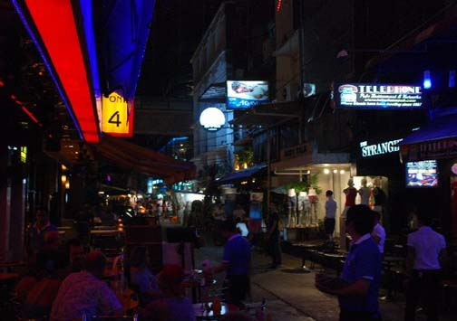 Silom Soi 4 is a bustling scene of gay pubs and clubs, but one tiny soi does not a gay Mecca make.