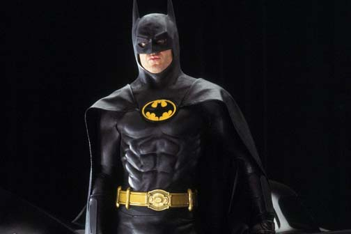 Michael Keaton is up for an Oscar for playing a has-been actor who once played a super hero. Huh.