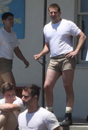 Bradley Cooper wears a pair of shorts as only a gay man could in the box office smash Titty Titty Bang Bang.
